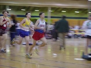 Liberty District 1600m Runner-up, Sophomore Doug Shapiro