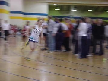 Outstanding Sophomore Sprinter Emily Curren